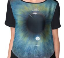 Eyeball - Blue & Green Chiffon Top