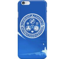Hero's Mark (Blue) iPhone Case/Skin