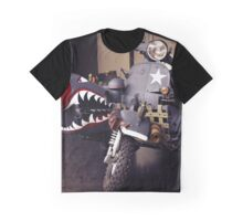 Fantasy Motorcycle, army style Graphic T-Shirt