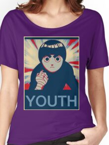 Rock Lee Youth poster Women's Relaxed Fit T-Shirt