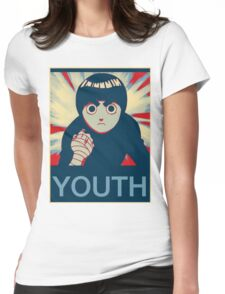 Rock Lee Youth poster Womens Fitted T-Shirt