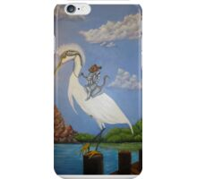 Knight and Egret  iPhone Case/Skin