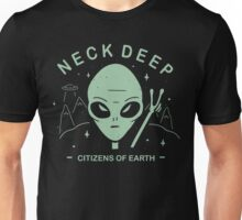 Neck Deep Citizens of Earth Unisex T-Shirt