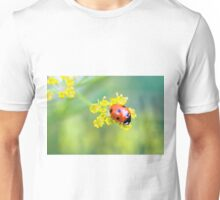 lady on top Unisex T-Shirt
