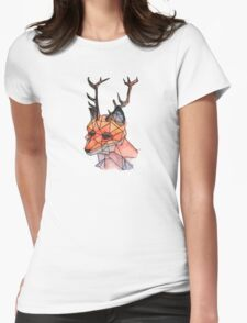 Foxalope Womens Fitted T-Shirt