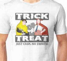 Bottom Halloween 'Trick Or Treat' Design Unisex T-Shirt