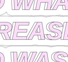 Ayo Whatup Krease?-Chanyeol Sticker