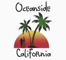 Oceanside California Kids Tee