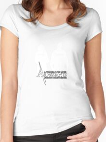 Castle ABC Always Writer & His Muse Women's Fitted Scoop T-Shirt