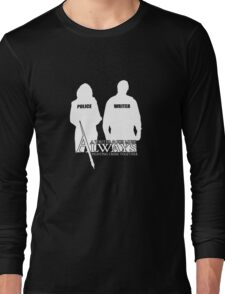 Castle ABC Always Writer & His Muse Long Sleeve T-Shirt