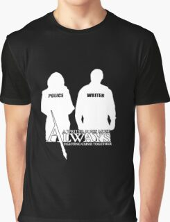 Castle ABC Always Writer & His Muse Graphic T-Shirt