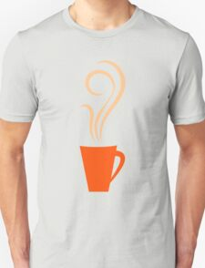 Retro coffee mugs pattern Unisex T-Shirt