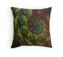 Dance Of The Magic Snails Throw Pillow