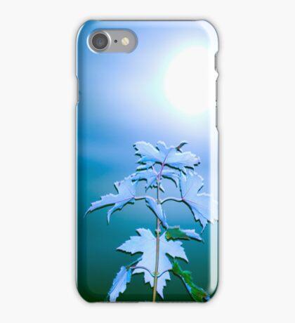 Moon Behind Autumn Fantasy iPhone Case/Skin