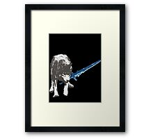 The Great Grey Wolf Sif  Framed Print