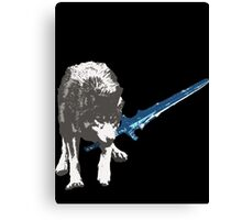 The Great Grey Wolf Sif  Canvas Print