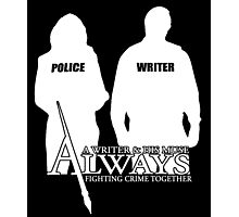 Castle ABC Always Writer & His Muse Photographic Print