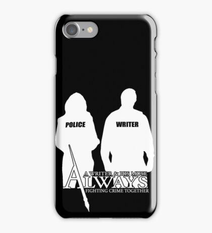 Castle ABC Always Writer & His Muse iPhone Case/Skin