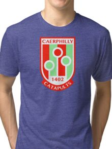Caerphilly Catapults Tri-blend T-Shirt