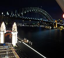 Sydney Harbour Bridge Night by KLEphoto-design