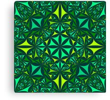 green farbenpracht  Canvas Print