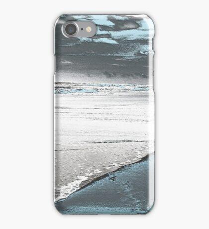 Silver Seascape I iPhone Case/Skin