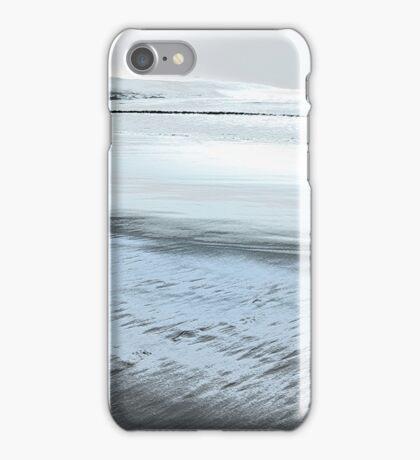 Silver Seascape II iPhone Case/Skin