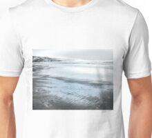 Silver Seascape II Unisex T-Shirt