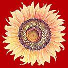 Sunflower Art by T-ShirtsGifts