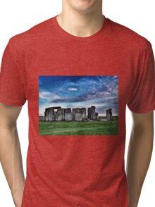 Stonehenge at Dusk Tri-blend T-Shirt