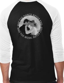Caskett - May The Music Never Stop Men's Baseball ¾ T-Shirt