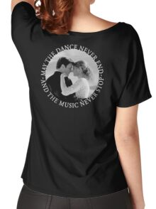 Caskett - May The Music Never Stop Women's Relaxed Fit T-Shirt