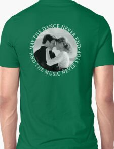 Caskett - May The Music Never Stop Unisex T-Shirt