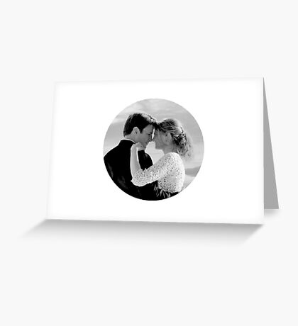 Caskett - May The Music Never Stop Greeting Card