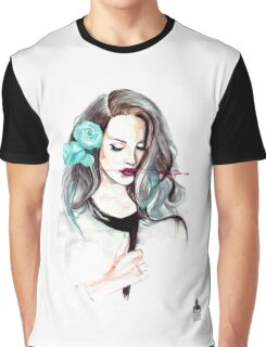 Blue Velvet - Lana del Rey Graphic T-Shirt
