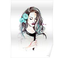 Blue Velvet - Lana del Rey Poster