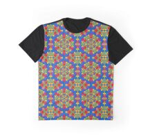 Kaleidoscope Color Pattern Graphic T-Shirt