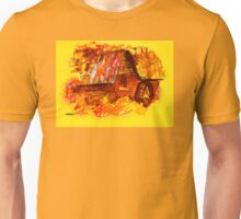 Fire at the Mill Unisex T-Shirt