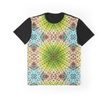 abstract shiny blue and green  Graphic T-Shirt