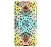 abstract shiny blue and green  iPhone Case/Skin