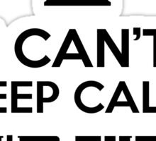 I can't keep calm, I'm the Doctor Sticker
