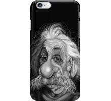 albert enstein  iPhone Case/Skin