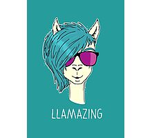 LLAMAZING Photographic Print
