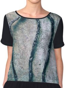 Burnt Matches ( Don´t Play With Fire ) Chiffon Top