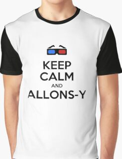 Keep calm and allons-y Graphic T-Shirt