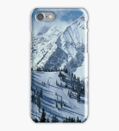 Snow moutain iPhone Case/Skin