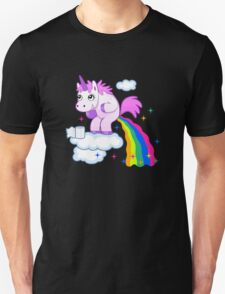 Unicorn Pup Rainbow In The Cloud Fun Pegasus Unisex T-Shirt