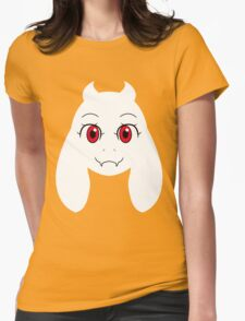 Simplistic Toriel Womens Fitted T-Shirt