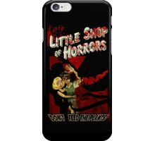 Little Shop of Horrors - pulp style iPhone Case/Skin