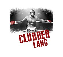 Clubber Lang Photographic Print